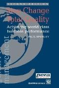 Step Change Total Quality Achieving World Class Business Performance - Chapman and Hall Staf...