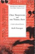 Oral Traditions and the Verbal Arts A Guide to Research Practices