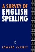 Survey of English Spelling