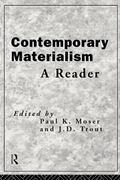 Contemporary Materialism A Reader