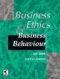 Business Ethics and Business Behaviour