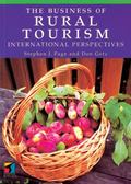 Business of Rural Tourism International Perspectives