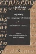 Exploring the Language of Drama From Text to Context