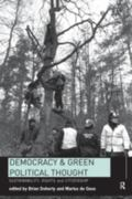 Democracy and Green Political Thought Sustainability, Rights and Citizenship