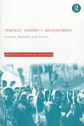 Feminist Visions of Development Gender, Analysis and Policy