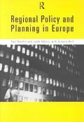 Regional Policy and Planning in Europe