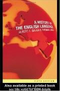 History of the English Language - Albert C. Baugh - Paperback