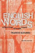 English Words Structure, history, usage