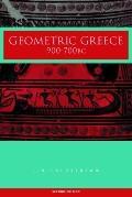 Geometric Greece 900-700 Bc