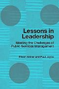 Lessons In Leadership Meeting Challenges Of Public Service Management