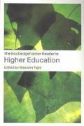 Routledgefalmer Reader in Higher Education