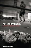 Legality of Boxing A Punch Drunk Love?