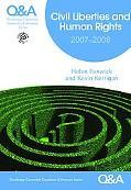 Liberties and Human Rights 2007-2008