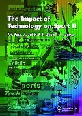 Impact of Technology on Sport II, Vol. 2