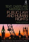 Text, Cases and Materials on Public Law and Human Rights 3/e