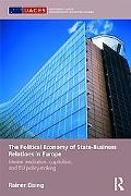 The Political Economy of State-Business Relations in Europe