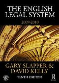 The English Legal System: 2009-2010