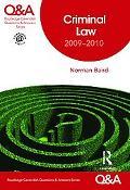 Criminal Law, 2009-2010