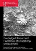 Routledge International Handbook of Educational Effectiveness