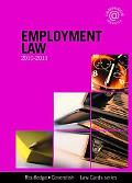 Employment Lawcards 2010-2011 (Law Cards)
