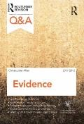 Q and A Evidence 2011-2012
