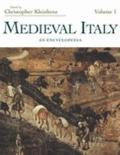 Medieval Italy An Encyclopedia