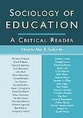Sociology of Education A Critical Reader