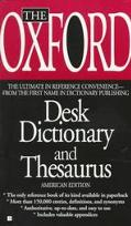 Oxford Desk Dictionary+thesaurus