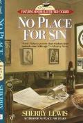 No Place for Sin (A Fred Vickery Mystery) - Sherry Lewis - Mass Market Paperback