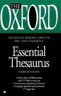 Oxford Essential Thesaurus