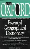 Oxford Essential Geographical Dictionary