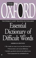 Oxford Essential Dictionary of Difficult Words