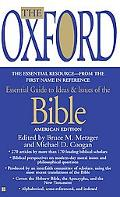 Oxford Essential Guide to Ideas & Issues of the Bible