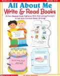 All About me Write and Read Books: 15 Fun-Shaped Book Patterns with Motivating Prompts to Ge...
