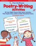 Fun 15-Minute Poetry-Writing Activities