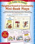 15 Easy-To-Read Neighborhood and Community Mini-Book Plays