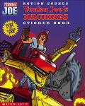 Action Scenes Tonka Joe's Machines Sticker Book