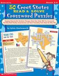 50 Great States Read & Solve Crossword Puzzles Engaging Reproducible Nonfiction Passages Abo...