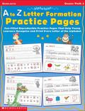 Alphatales A to Z Letter Formation Practice Pages