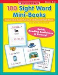 100 Sight Word Mini-Books Instant Fill-in books That Teach 100 Essential Sight Words
