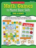 Math Games to Master Basic Skills Time & Money