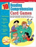 10 Reading Comprehension Card Games Easy-to-play, Reproducible Card And Board Games That Boo...