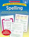 Spelling, Week-by-week Homework Packets grade 3