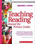 Teaching Reading Beyond the Primary Grades Theory And Practice