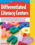 Differentiated Literacy Centers Hundreds of Leveled Activitieswith Reproducible Planning She...