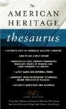 The American Heritage Thesaurus, First Edition