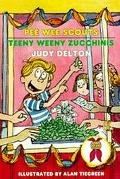 Teeny Weeny Zucchinis (Pee Wee Scouts Series #27) - Judy Delton - Paperback