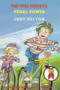 Pedal Power (Pee Wee Scouts Series #35) - Judy Delton - Paperback