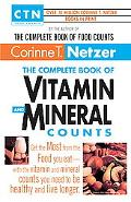 Complete Book of Vitamin and Mineral Counts