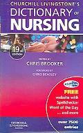Churchill Livingstone's Dictionary of Nursing